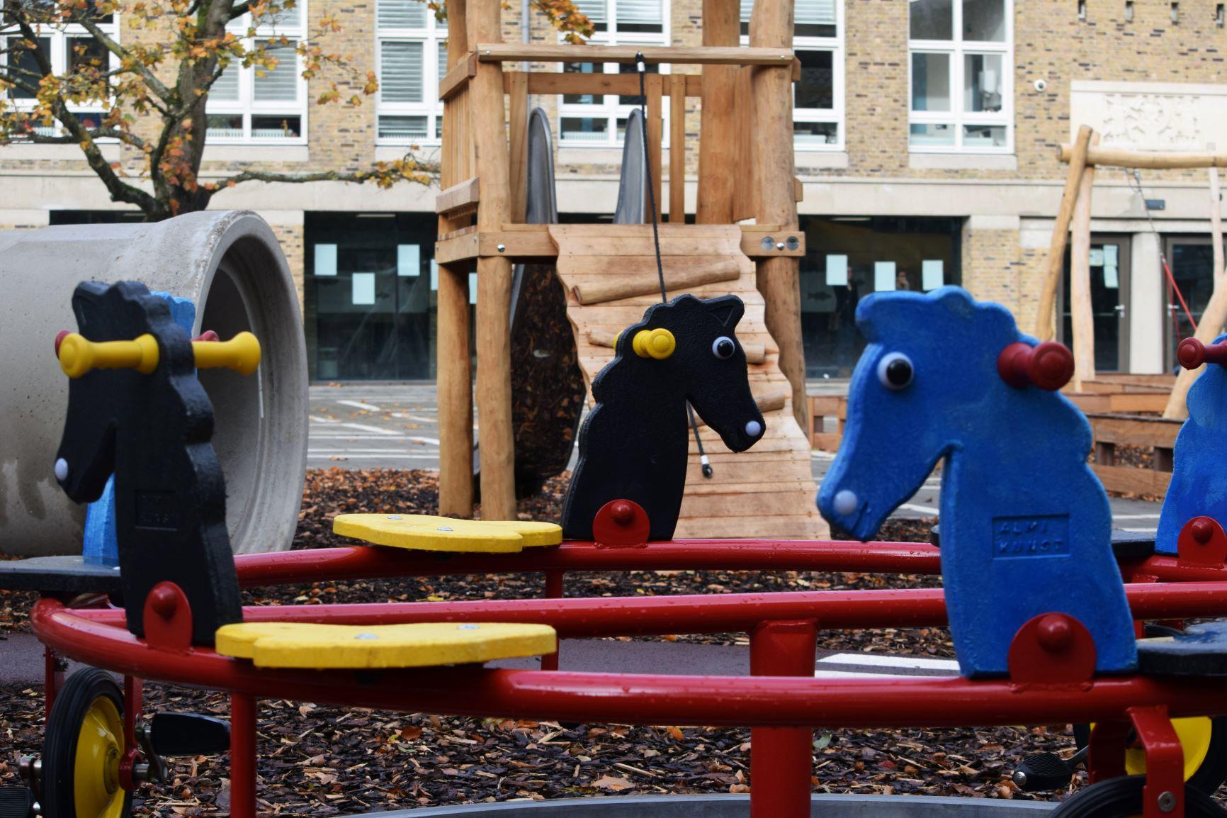 Speelplein Visio-school Amsterdam
