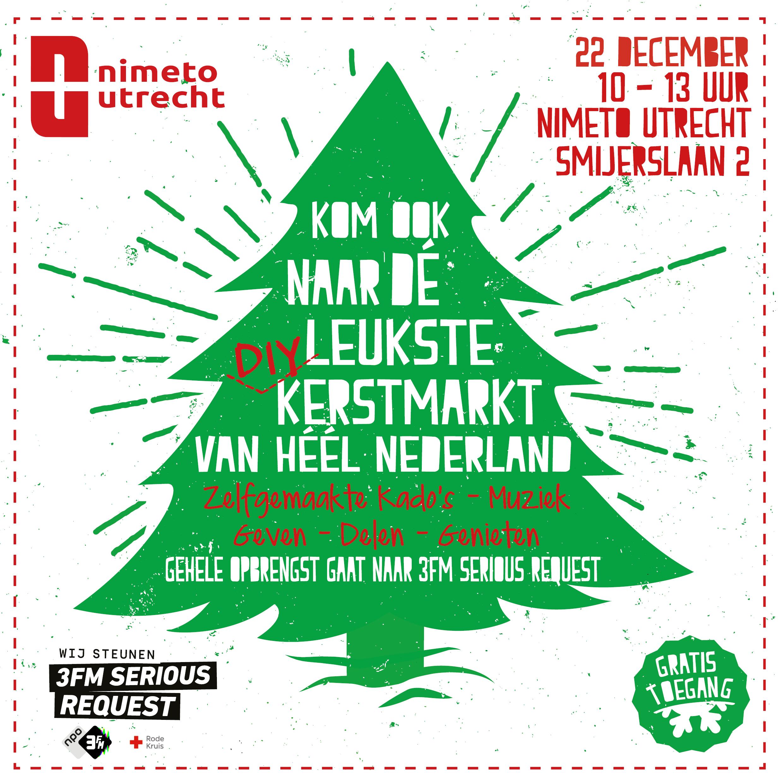 De Leukste Diy Kerstmarkt Van Nederland Op 22 Dec Bij Nimeto Utrecht