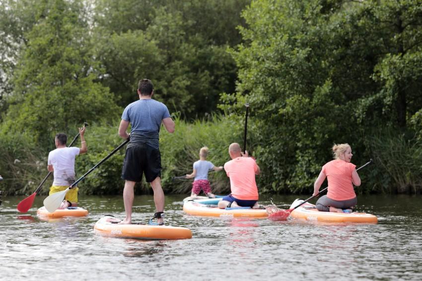 16 juni 2019 - Meevaarweekend Friesland Deelnemers op de SUP