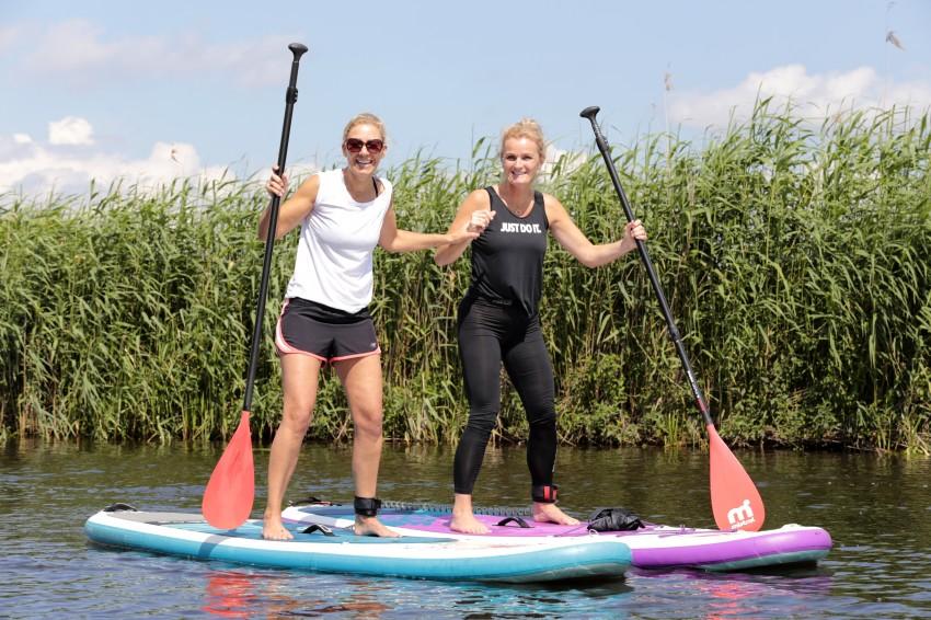 16 juni 2019 - Meevaarweekend Friesland Deelnemers op de SUP 2