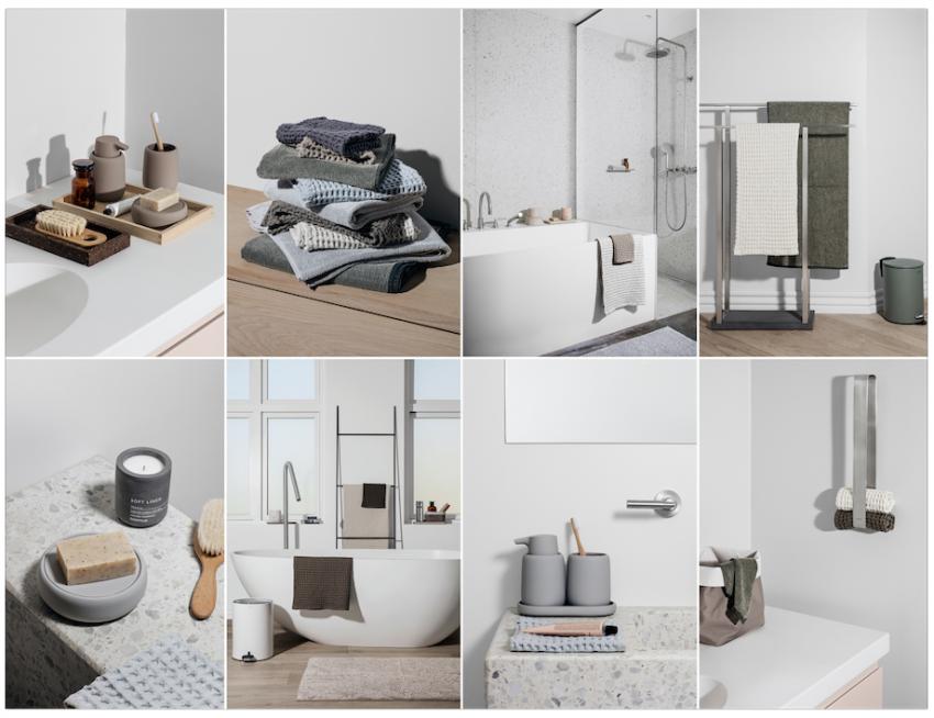 Design Badkamer Matten : Persbericht blomus scandinavische touch voor de badkamer