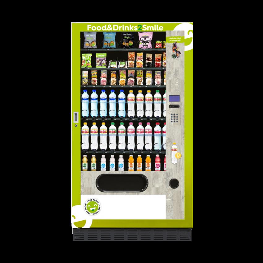Food&Drinks2Smile vendingmachine