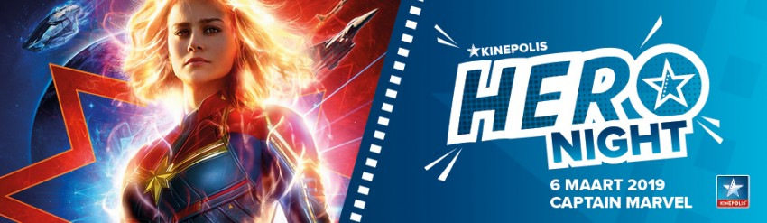 Kinepolis Hero Night: Captain Marvel