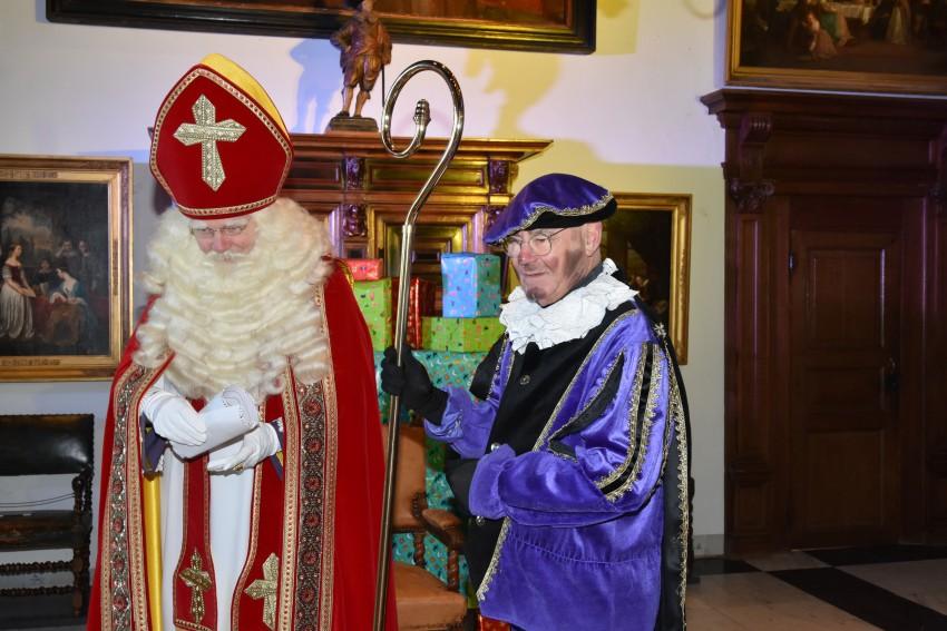 Sinterklaas in de ridderzaal