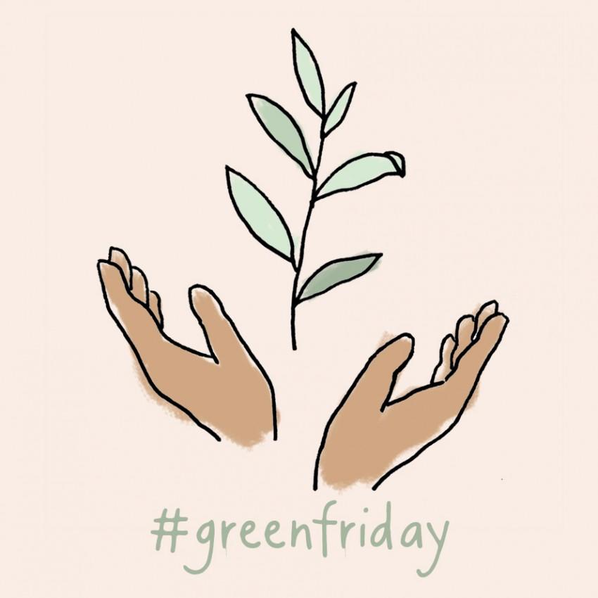 Geen Black Friday maar Green Friday: Dille & Kamille kiest voor bomen in  plaats van korting!