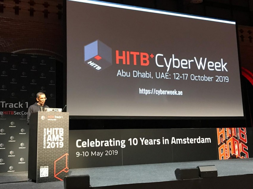 Launch of HITB+CyberWeek to drive a cyber smart world